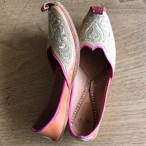 Shoes - Leather slip ons